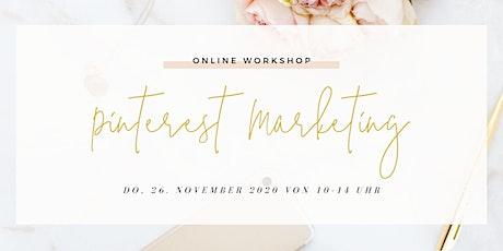 Pinterest Marketing Workshop (Online) Tickets