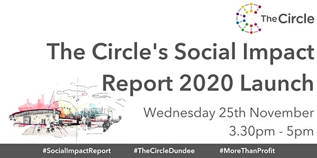 The Circle's Social Impact Report 2020 launch tickets