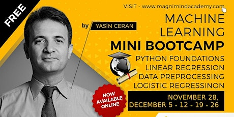 Free - Online - Live 10 Hours Machine Learning Bootcamp tickets