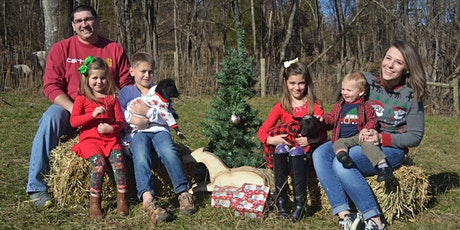 Christmas Mini Photo Session with Baby Goats! tickets