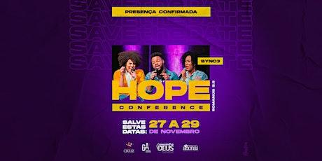 HOPE CONFERENCE ingressos