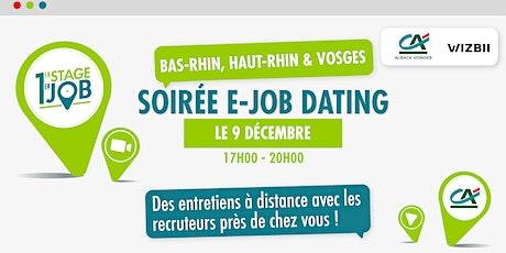E-Job Dating Rhin et Vosges : décrochez un emploi dans votre région billets