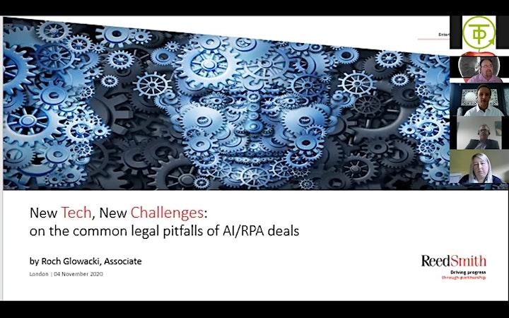 The True View of AI & RPA webinar image