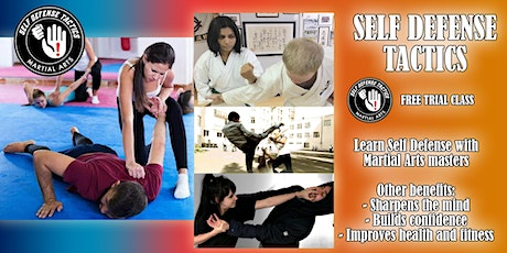 Self Defense Course - Come Trial a Class bilhetes