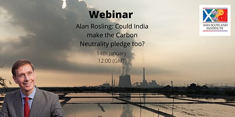 Alan Rosling: Could India make the Carbon Neutrality pledge too? tickets
