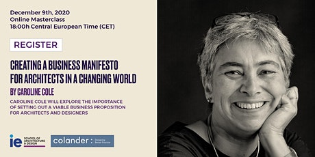 Creating a Business Manifesto for Architects in a Changing World tickets