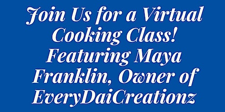 Virtual Cooking Class tickets