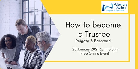 Joining a charity board in Reigate & Banstead: is trusteeship for you? tickets