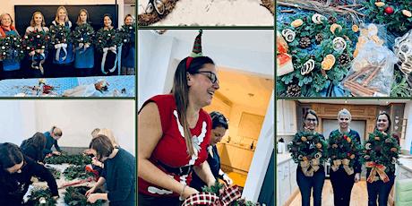 Virtual Christmas Wreath Making Workshop tickets