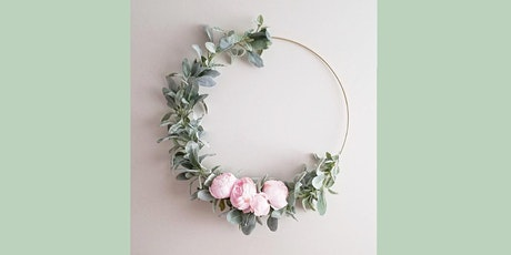 Modern Hoop Wreath: Sip and Craft at Magnanini Winery!!! tickets