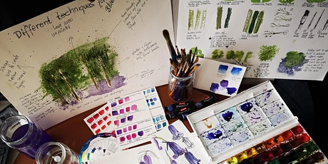 Painting Bluebells in Watercolour & Gouache tickets