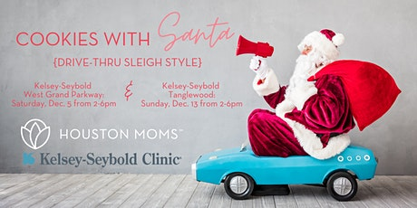 Houston Moms Blog's Cookies with Santa {Drive-Thru Sleigh Style} tickets
