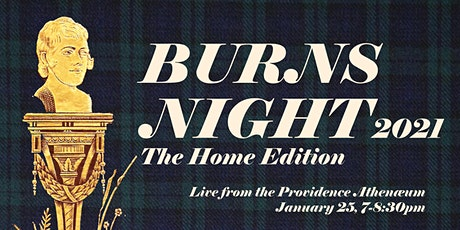 Burns Night 2021: The Home Edition tickets