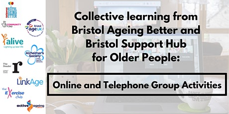 Learning event: Online and telephone group activities for older people tickets