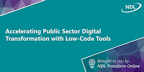 Accelerating Public Sector Digital Transformation with Low-Code Tools tickets