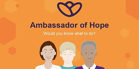 Copy of Virtual  Ambassadors Of Hope Training | By Chasing the Stigma tickets