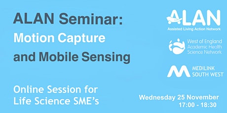 ALAN Seminar: Motion Capture and Mobile Sensing tickets