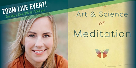 Virtual  Meditation Practice that benefits you with author Lisa Erickson tickets