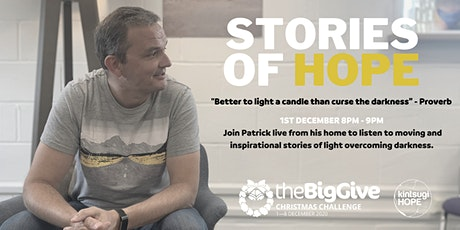 Stories of Hope with Patrick Regan tickets