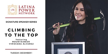 Climbing To The Top: Guinness World Record Mountaineer Viridiana Álvarez tickets