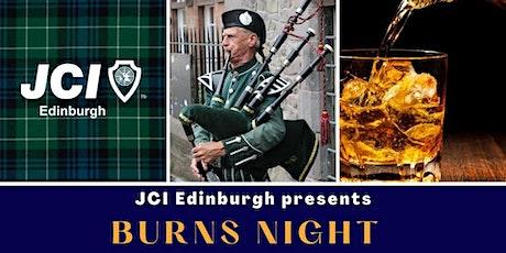 JCI Edinburgh Burns Night 2021 tickets