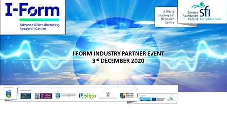 Industry Partner Event with I-Form, SFI  Research Centre tickets