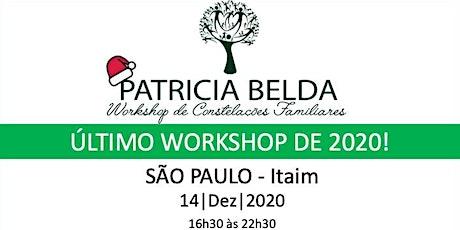 WORKSHOP DE CONSTELAÇÃO FAMILIAR POR PATRICIA BELDA ingressos