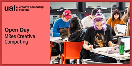 UAL CCI Open Day: MRes Creative Computing tickets