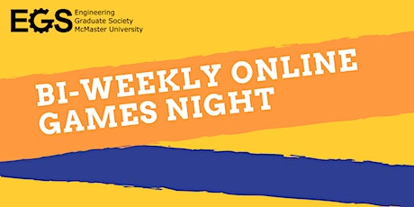 EGS Bi-Weekly Online Game Nights! tickets