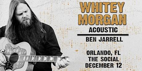 Whitey Morgan tickets