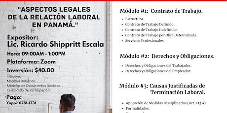 Aspectos Legales de la Relación Laboral en Panamá. entradas
