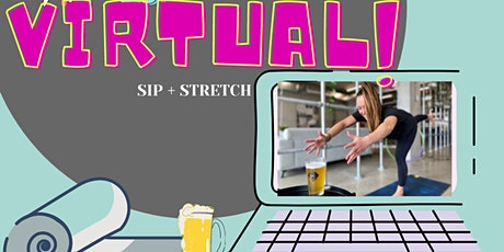 *Virtual Session * SIP + STRETCH Beer Yoga at Legend 7 Brewing - Dec 5