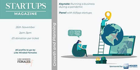 Startups Magazine: Growth and Planning tickets