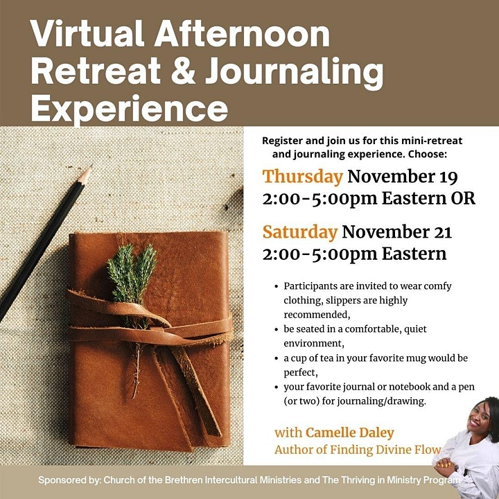 The Journaling Experience: A Virtual Retreat image