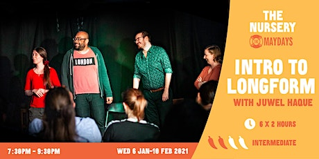 Online Intro to Longform Improv Course tickets
