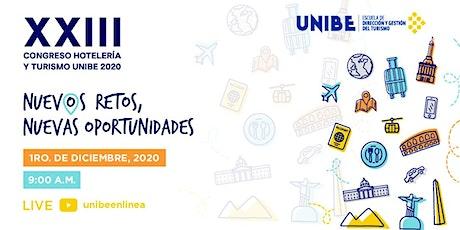XXIII Congreso Hotelería y Turismo UNIBE 2020 entradas