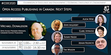 Open Access Publishing in Canada: Next Steps tickets