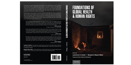 """UK launch of """"Foundations of Global Health and Human Rights"""" tickets"""