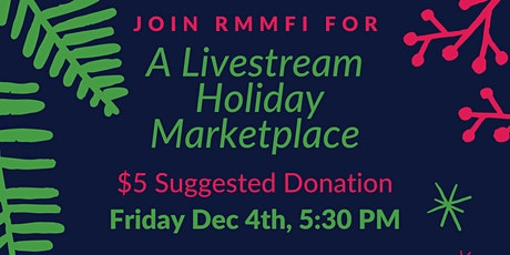 RMMFI Virtual Holiday Marketplace tickets