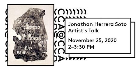 Jonathan Herrera Soto  Artist's Talk