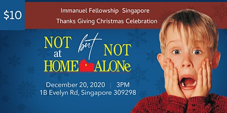 """Not at Home but Not Alone"" IFSG Thanks Giving Christmas Party 2020 tickets"