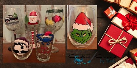 Holiday glass Painting Party tickets