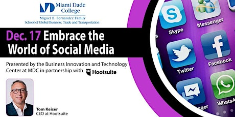 Embrace the World of Social Media (by Hootsuite) tickets