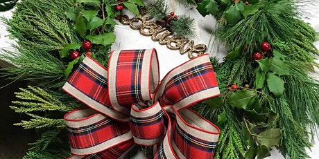 Holiday Wreath, Garland, and Table Decor Workshops tickets