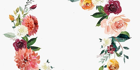 Create A Watercolour or Ink Flower Wreath: A Painting and Drawing Session tickets