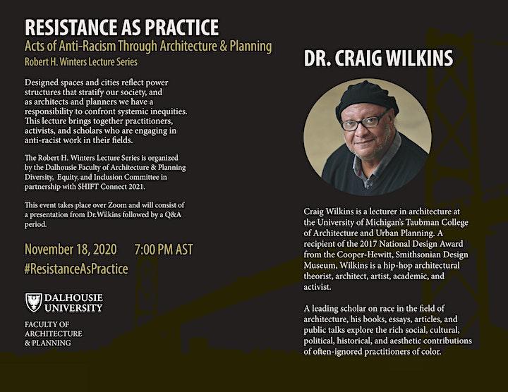 Dr. Craig Wilkins on Resistance as Practice - Robert H. Winters Series image