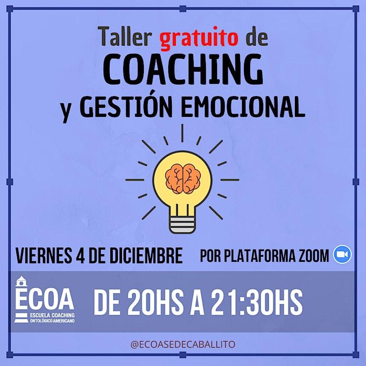 Imagen de Taller de Coaching y Gestión Emocional