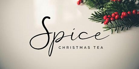 Spice Christmas Tea tickets