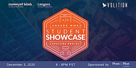 Langara College & Volition Virtual Student Showcase tickets