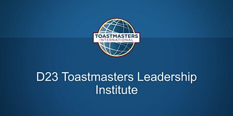 D23 Toastmasters Leadership Institute tickets